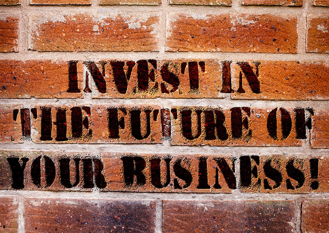 Invest in the future of your Business Graffiti
